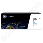 High Capacity HP 658X Cyan Toner