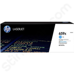 High Capacity HP 659X Cyan Toner Cartridge