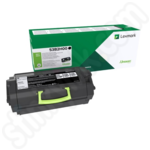 High Capacity Lexmark 53B2H00 Black Toner Cartridge