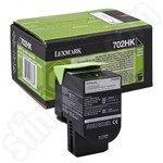 High Capacity Lexmark 702HK Black Toner Cartridge