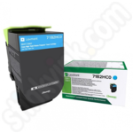 High Capacity Lexmark 71B2HC0 Cyan Toner Cartridge