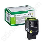 High Capacity Lexmark C232HY0 Yellow Toner Cartridge (Return Program)