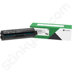 High Capacity Lexmark C332HK0 Black Toner Cartridge (Return Program)