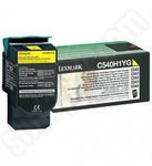 High Capacity Lexmark C54x Yellow Toner Cartridge