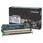 High Capacity Lexmark C748H1CG Cyan Toner Cartridge