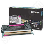High Capacity Lexmark C748H1MG Magenta Toner Cartridge