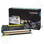 High Capacity Lexmark C748H1YG Yellow Toner Cartridge