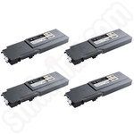 High Capacity Multipack of Dell 593-11115-8 Toner Cartridges