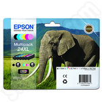 High Capacity Multipack of Epson 24XL Ink Cartridges