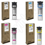 High Capacity Multipack of Four Epson T945 Ink Cartridges