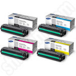 High Capacity Multipack of Samsung CLT-506L Toner Cartridges