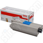High Capacity Oki 44973508 Black Toner Cartridge