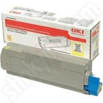 High Capacity Oki 46443101 Yellow Toner Cartridge