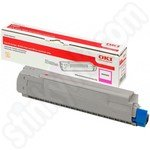 High Capacity Oki 46490606 Magenta Toner Cartridge