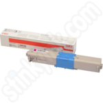 High Capacity Oki 46508710 Magenta Toner Cartridge