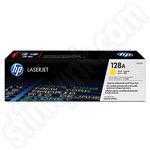 HP 128A Yellow Toner Cartridge