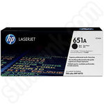 HP 651A Black Toner Cartridge