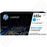 HP 655A Cyan Toner Cartridge
