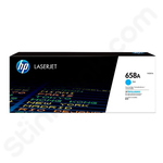 HP 658A Cyan Toner Cartridge