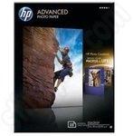 HP 7x5 Advanced Glossy Photo Paper - 25 Sheets