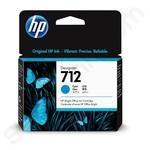 HP 712 Cyan Ink Cartridge