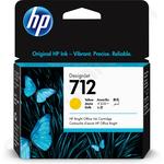 HP 712 Yellow Ink Cartridge