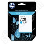 HP 728 Cyan Ink Cartridge