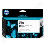 HP 730 Matte Black Ink Cartridge