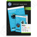 HP 953XL Colour Multipack with A4 Paper