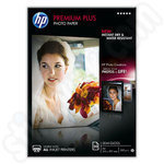 HP A4 Premium Plus Semi-Gloss Photo Paper - 20 Sheets