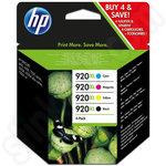 Multipack of HP 920 XL Ink Cartridges