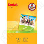 Kodak 6x4 Glossy Photo Paper - 50 Sheets