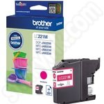 Brother LC221 Magenta Ink Cartridge
