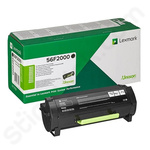 Lexmark 56F2000 Black Toner Cartridge (Return Program)