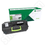 Lexmark 63B2000 Black Toner Cartridge