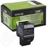 Lexmark 702K Black Toner Cartridge
