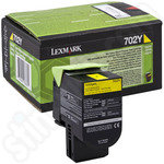 Lexmark 702Y Yellow Toner Cartridge