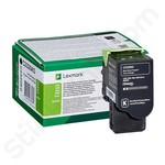 Lexmark C2320K0 Black Toner Cartridge (Return Program)