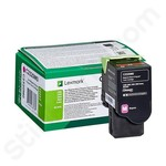 Lexmark C2320M0 Magenta Toner Cartridge (Return Program)
