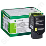 Lexmark C2320Y0 Yellow Toner Cartridge (Return Program)