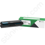 Lexmark C3220C0 Cyan Toner Cartridge (Return Program)