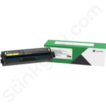 Lexmark C3220Y0 Yellow Toner Cartridge (Return Program)
