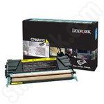 Lexmark C746A1YG Yellow Toner Cartridge