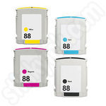 Compatible Multipack  High Capacity HP 88 XL Ink Cartridges