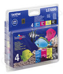 Multipack of Brother LC1000 Ink Cartridges