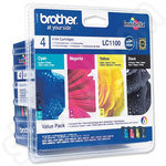 Multipack of Brother LC1100 Ink Cartridges