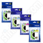 Multipack of Brother LC3233 Ink Cartridges