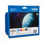 Multipack of Brother LC970 Ink Cartridges
