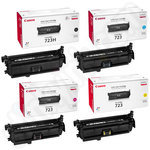 Multipack of Canon 723 Toner Cartridges