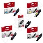 Multipack of Canon PGI-555XXL and CLI-551XL Ink Cartridges